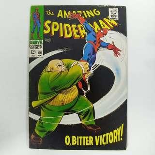 amazing Spider-Man #60 (1968) w/ Kingpin appearance - Stan Lee story - Marvel Comics / Silver Age