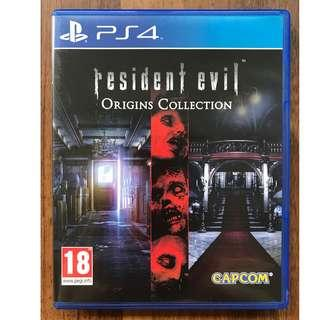 Ps4: Resident Evil Origins Collection [R2/ENG]