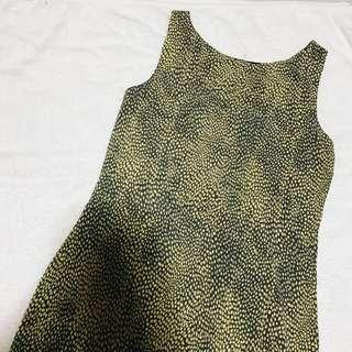 NAVA Animal Print Dress