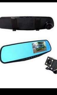 Front and rear mirror camera