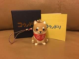 日本全新《產科醫鴻鳥》コウノドリ 安產柴犬御守吊飾