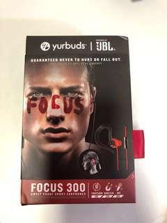 JBL yurbuds Focus 300 sweatproof sport earphones
