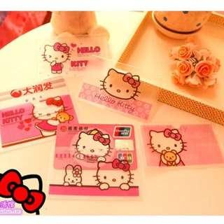 6 For RM20 !! Hello Kitty Ez Link ID Bank Clear Card Case Holder