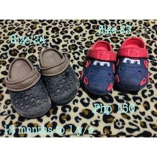 Preloved Baby Boy Crocs