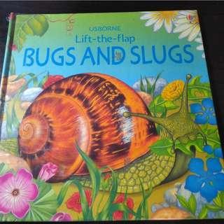🚚 Bugs and Slugs (Usborne Lift the Flap Learner)