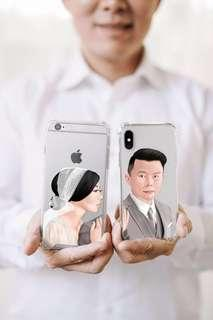 Custom Phone Case Wedding