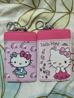 Hello Kitty cardholder keychain