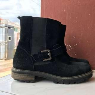 Massimo Dutti Real Leather Boots