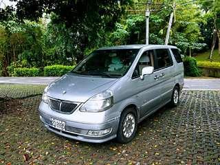 實車 實價 2001 日產 Q-RV 2.0 七人座 頂級版 一手車