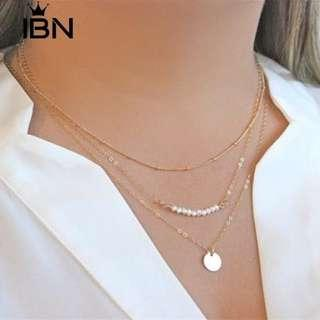 3 layer necklaces