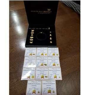999 Pure Gold Lucky Charm Bracelet