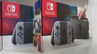 New Nintendo switch Grey local