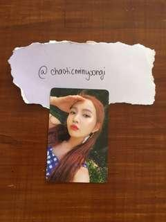 Red Velvet Summer Magic Official Joy Limited Photocard
