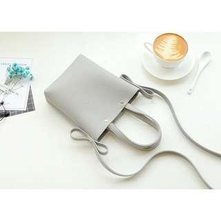 INSTOCK | Grey Mini Sling Pouch Bag