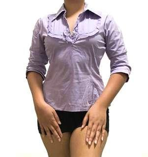 Unica Hija - Purple Blouse