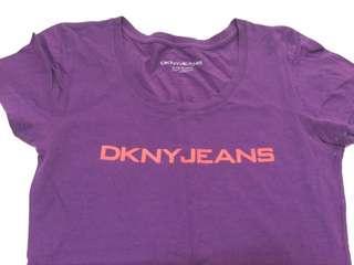 Authentic DKNY purple shirt