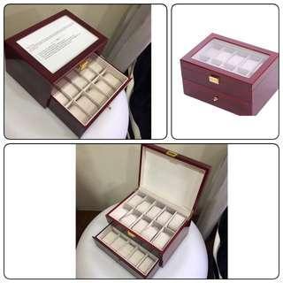 Big offer -High Grade 20slots Wooden Watch Box