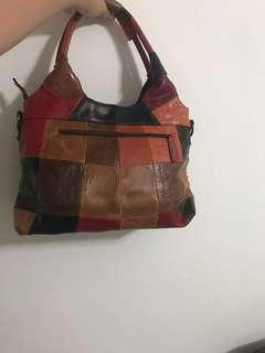 (PRICE REDUCE)Leather bag