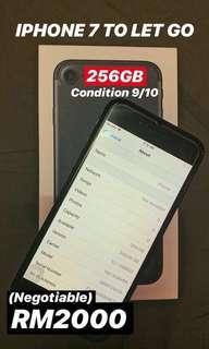 Iphone 7 256gb myset (nego)