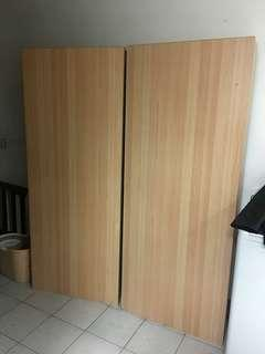 木工訂製雙人床架