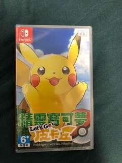 Pokemon let's go 比卡超版