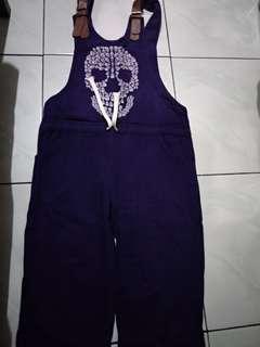 Jumsuit purple