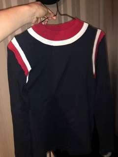 Three Tone Sweater