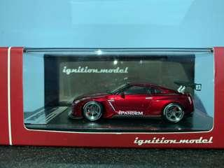 Ig ignition-model r35 red (not tarmac inno tomica)