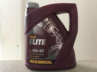 Mannol Elite 5W-40 4 Liters Fully Synthetic Engine Oil