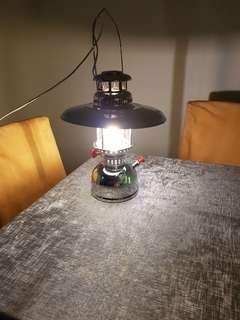 Brand NEW Original retro vintage antique kerosene lamp lantern light fitted with modern LED bulb, with a touch of modern technology to brighten up your house.