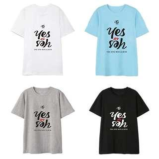 [ PO ] TWICE Yes Or Yes Shirt