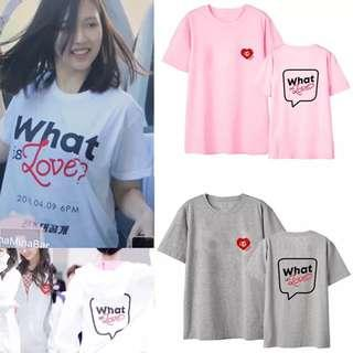[ PO ] TWICE What Is Love Shirt