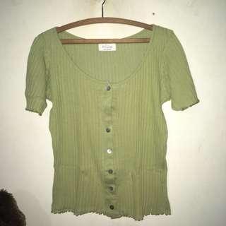 Knitwear hijau