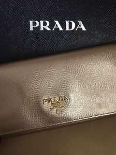 👝 特色 絕牌 Prada wallet 👝