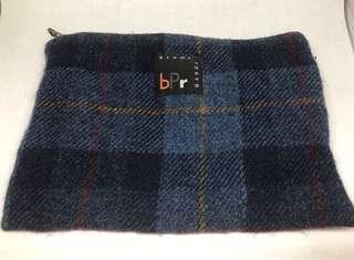 Beams x Harris Tweed small bag