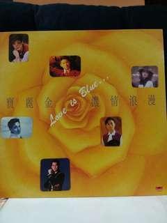 黑膠唱片 宝麗金濃情浪漫 LP