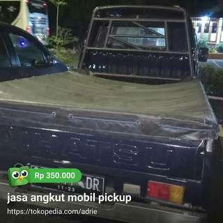 Jasa angkut mobil pickup wa081314939557