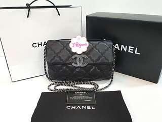 Like New! Authentic Chanel Wild Stitch Small Flap Bag Silver Hardware {{ Only For Sale}} ** No Trade ** {{ Fixed Price Non-Neg }} ** 定价 **