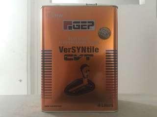 UMW GEP ATF Versyntile CVT 4 Liters Auto CVT Gear Oil