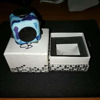 Fidget Cube Blue Camo