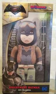 Bearbrick 400% knightmare Batman