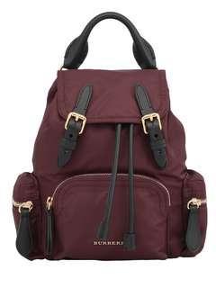 Burberry Rucksack backpack medium burgandy