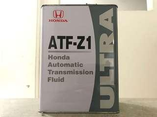 Honda ATF Z1 Ultra 4 Liters Auto Gear Oil Made In Japan