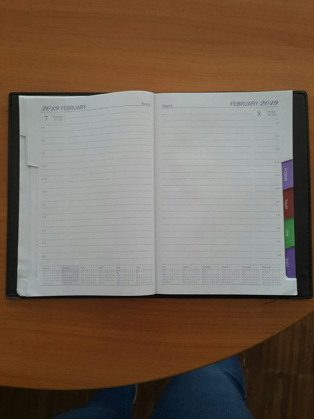 graphic relating to May Books Planner named 2019 Planner
