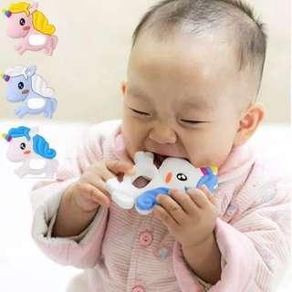 🚚 UNICORN TEETHER(3 COLS AVAIL)