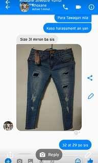 🚚 Roxanne pants fubu