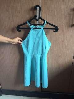 BKK Blue Dress