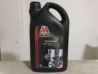 Millers Oils CSS 20W-60 5 Liters Semi Synthetic Racing Engine Oil