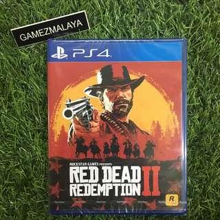[NEW] PS4 RED DEAD REDEMPTION 2 - (GAMEZMALAYA)