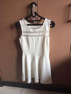 Chic Simple White Dress